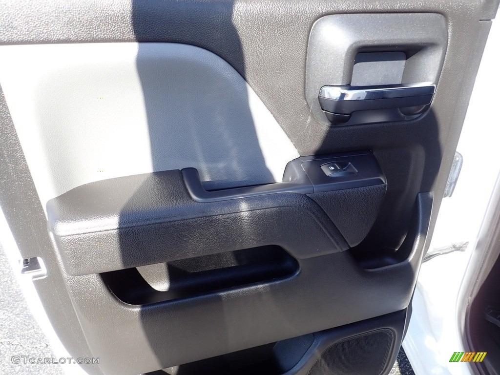 2017 Silverado 1500 Custom Double Cab 4x4 - Summit White / Dark Ash/Jet Black photo #24