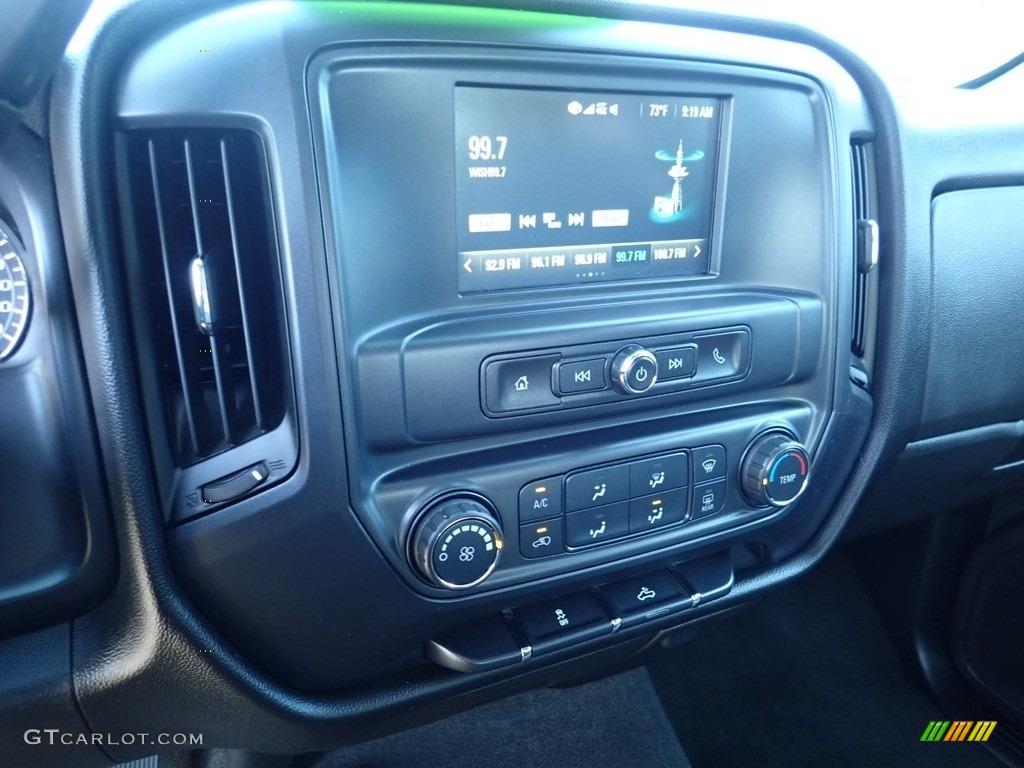 2017 Silverado 1500 Custom Double Cab 4x4 - Summit White / Dark Ash/Jet Black photo #28