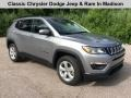 Billet Silver Metallic 2019 Jeep Compass Latitude 4x4