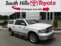 2012 Bright White Dodge Ram 1500 Laramie Crew Cab 4x4 #134304258