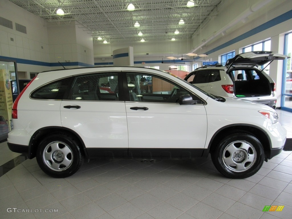 2011 CR-V LX 4WD - Taffeta White / Ivory photo #4
