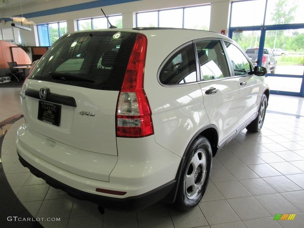 2011 CR-V LX 4WD - Taffeta White / Ivory photo #7