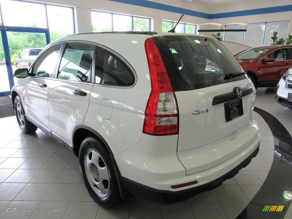 2011 CR-V LX 4WD - Taffeta White / Ivory photo #9