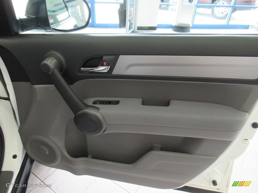 2011 CR-V LX 4WD - Taffeta White / Ivory photo #14