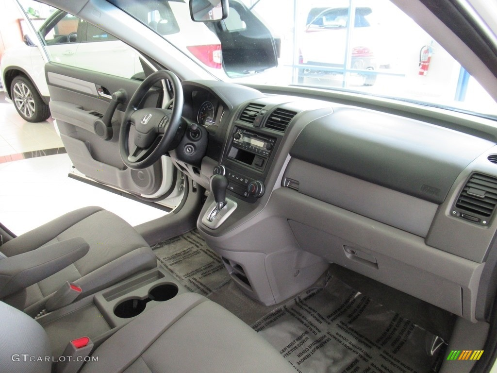 2011 CR-V LX 4WD - Taffeta White / Ivory photo #15