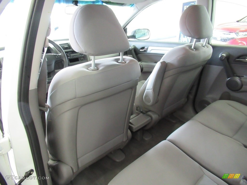 2011 CR-V LX 4WD - Taffeta White / Ivory photo #24
