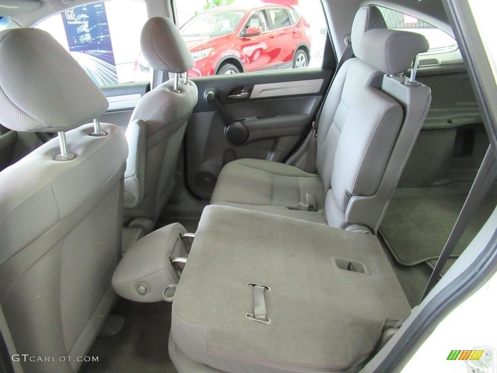 2011 CR-V LX 4WD - Taffeta White / Ivory photo #26