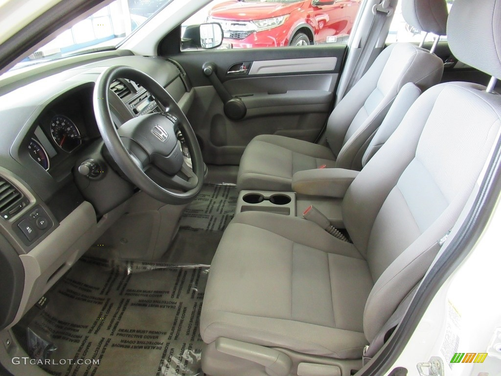 2011 CR-V LX 4WD - Taffeta White / Ivory photo #29
