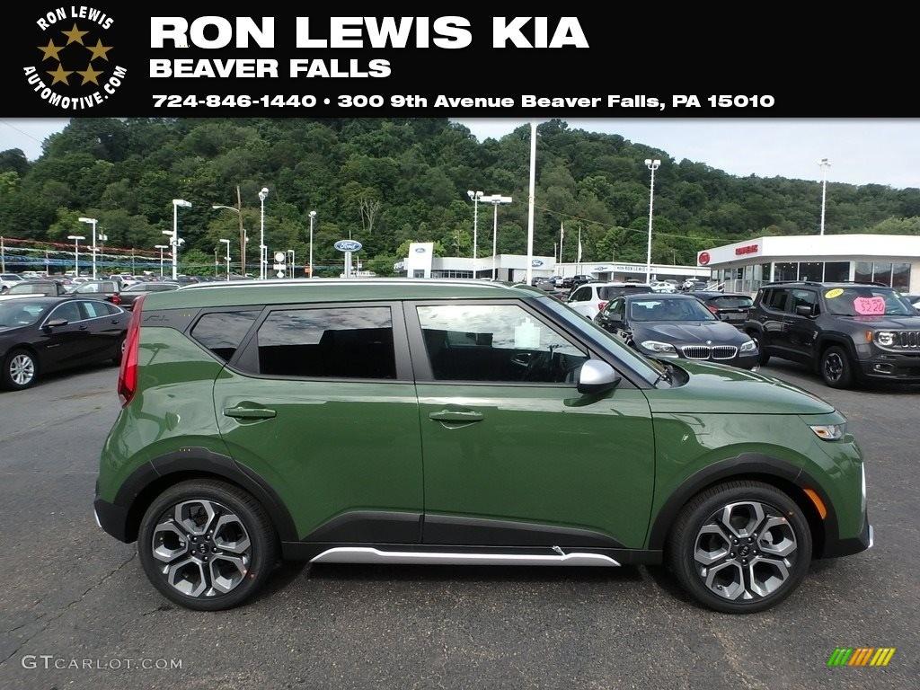 2020 undercover green kia soul x line 134304212 gtcarlot com car color galleries gtcarlot com