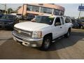 2012 Summit White Chevrolet Silverado 1500 LT Extended Cab 4x4  photo #1
