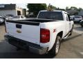 2012 Summit White Chevrolet Silverado 1500 LT Extended Cab 4x4  photo #5