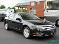 2011 Tuxedo Black Metallic Ford Fusion Hybrid  photo #7