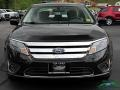 2011 Tuxedo Black Metallic Ford Fusion Hybrid  photo #8