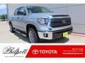 2019 Cement Toyota Tundra SR5 CrewMax 4x4 #134379034