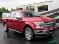 2019 Ruby Red Ford F150 Lariat SuperCrew 4x4  photo #8