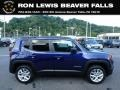 Jetset Blue 2018 Jeep Renegade Latitude 4x4