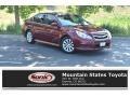 Ruby Red Pearl 2011 Subaru Legacy 3.6R Limited