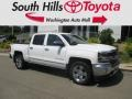 2016 Summit White Chevrolet Silverado 1500 LTZ Crew Cab 4x4  photo #1