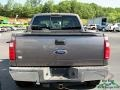 2008 Dark Shadow Grey Metallic Ford F250 Super Duty Lariat Crew Cab 4x4  photo #4
