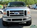 2008 Dark Shadow Grey Metallic Ford F250 Super Duty Lariat Crew Cab 4x4  photo #8