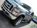 2008 Dark Shadow Grey Metallic Ford F250 Super Duty Lariat Crew Cab 4x4  photo #33