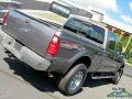 2008 Dark Shadow Grey Metallic Ford F250 Super Duty Lariat Crew Cab 4x4  photo #35