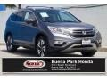 2016 White Diamond Pearl Honda CR-V Touring  photo #1