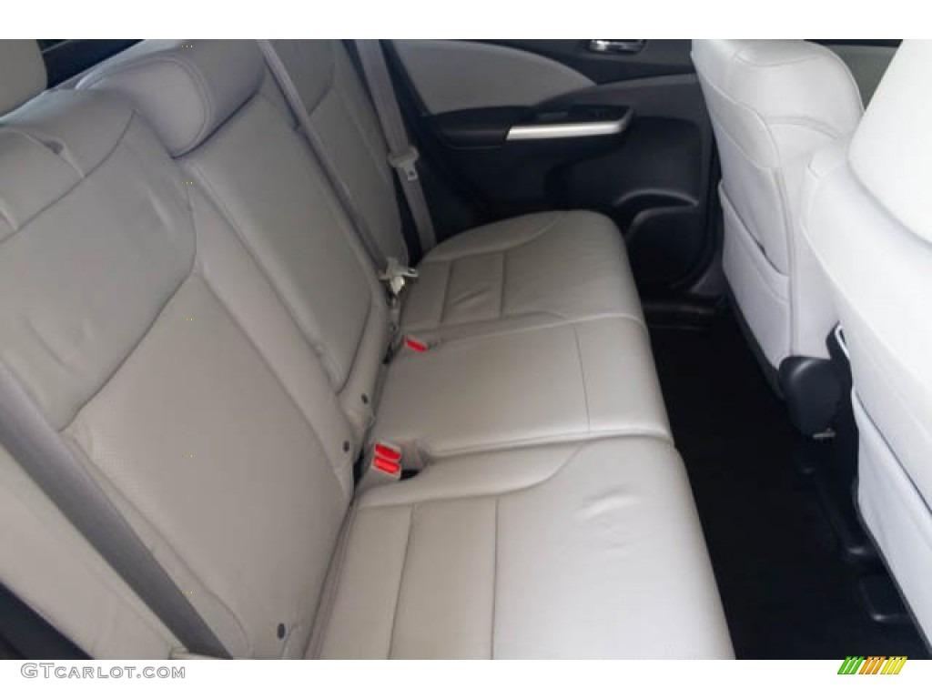 2016 CR-V Touring - White Diamond Pearl / Gray photo #18
