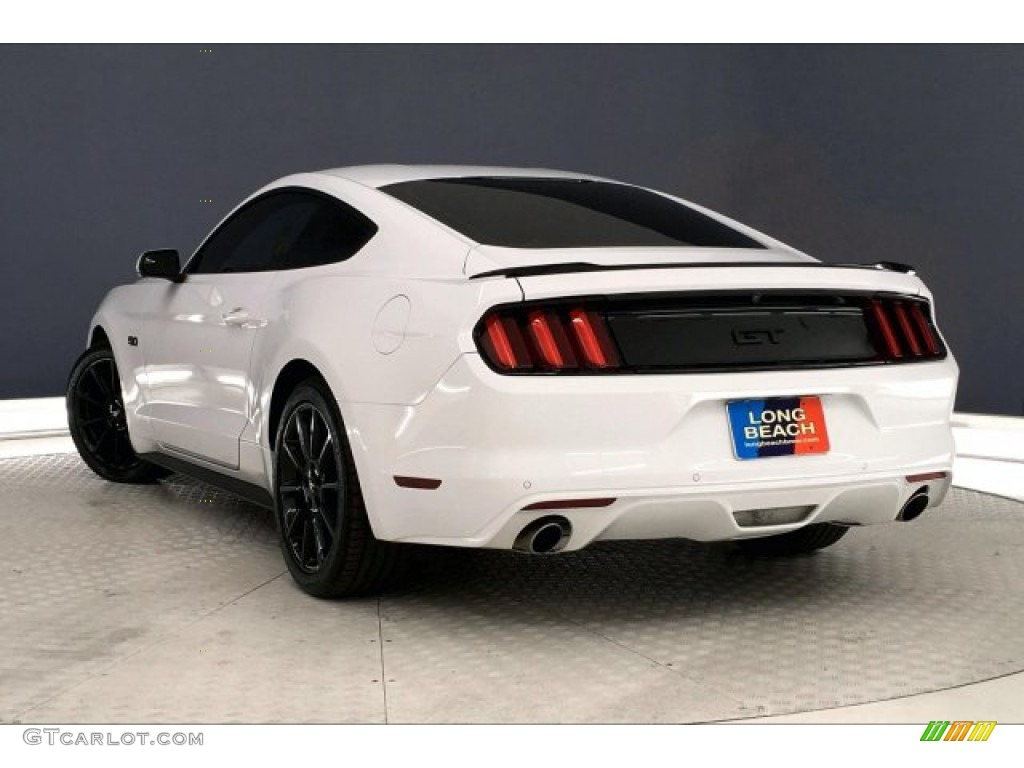 2016 Mustang GT Premium Coupe - Oxford White / California Special Ebony Black/Miko Suede photo #10