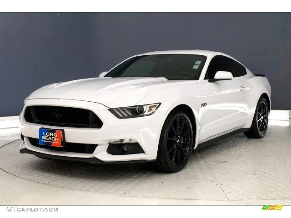 2016 Mustang GT Premium Coupe - Oxford White / California Special Ebony Black/Miko Suede photo #12