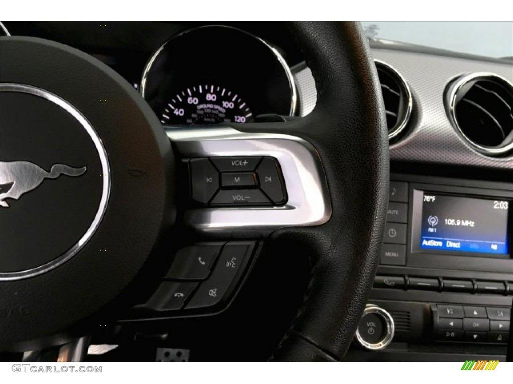2016 Mustang GT Premium Coupe - Oxford White / California Special Ebony Black/Miko Suede photo #15