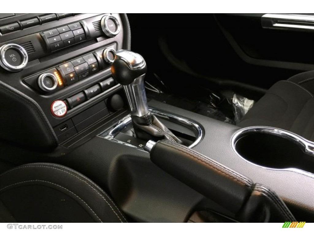 2016 Mustang GT Premium Coupe - Oxford White / California Special Ebony Black/Miko Suede photo #18