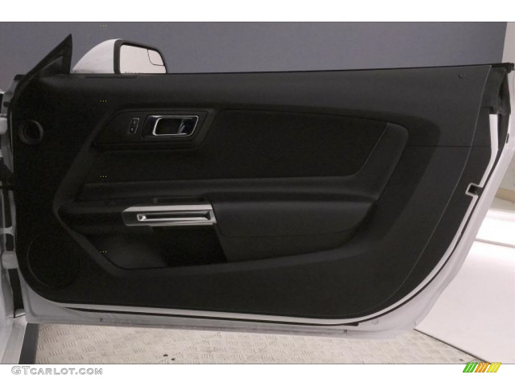 2016 Mustang GT Premium Coupe - Oxford White / California Special Ebony Black/Miko Suede photo #24