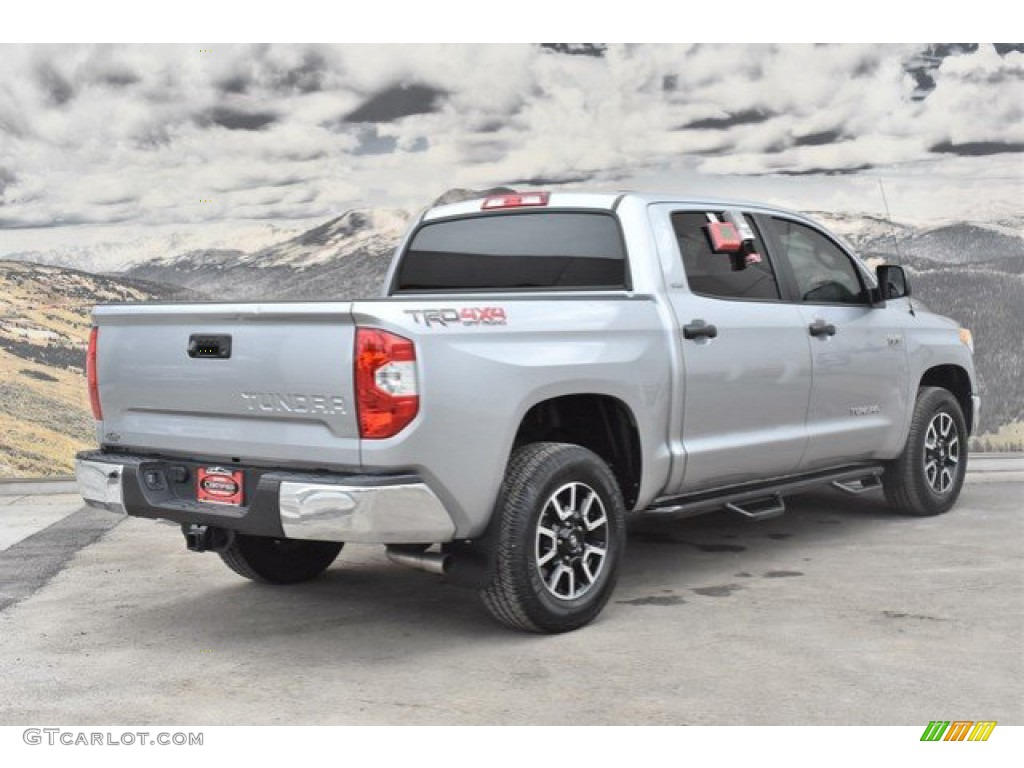 2016 Tundra SR5 CrewMax 4x4 - Silver Sky Metallic / Black photo #3