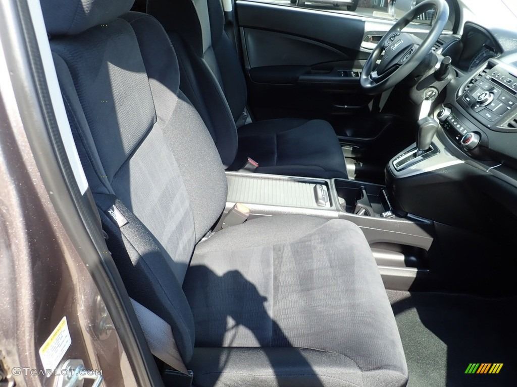 2013 CR-V LX AWD - Kona Coffee Metallic / Black photo #11
