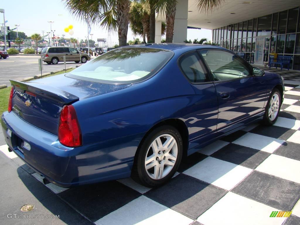 2006 superior blue metallic chevrolet monte carlo ltz 13440102 photo 5 car. Black Bedroom Furniture Sets. Home Design Ideas
