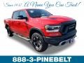 Flame Red 2019 Ram 1500 Rebel Crew Cab 4x4