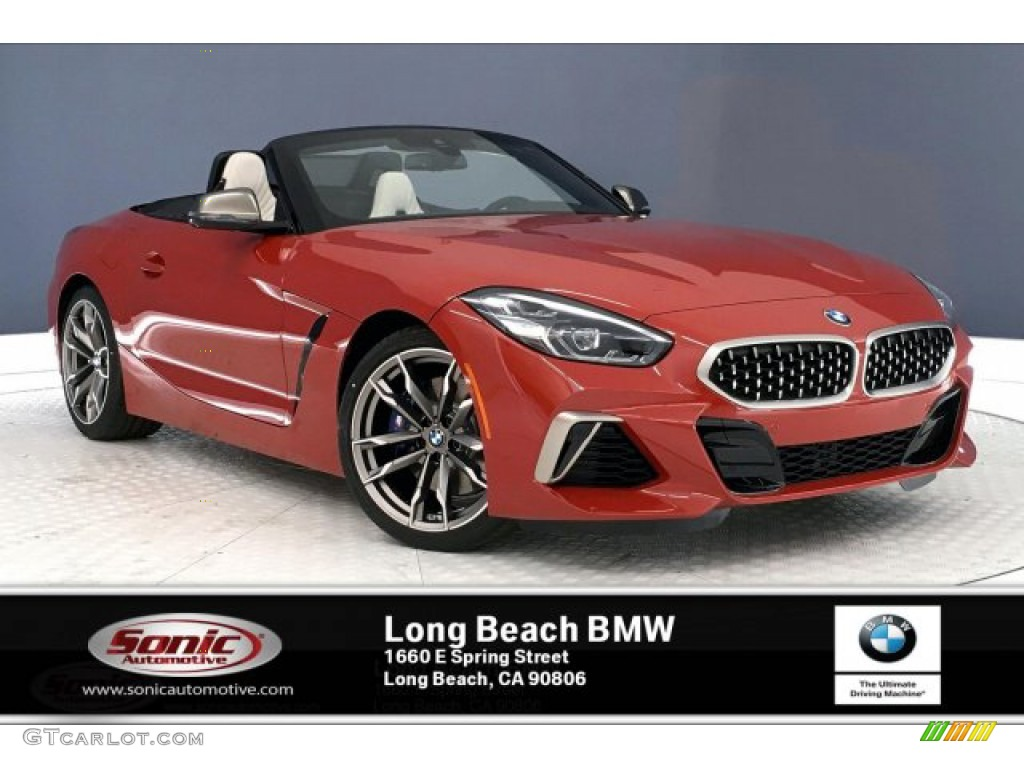 2020 San Francisco Red Metallic BMW Z4 sDrive M40i ...