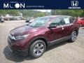 2019 Basque Red Pearl II Honda CR-V LX AWD #134486610