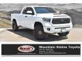 2018 Super White Toyota Tundra SR5 Double Cab 4x4 #134486505