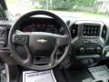 2019 Silver Ice Metallic Chevrolet Silverado 1500 Custom Double Cab 4WD  photo #21