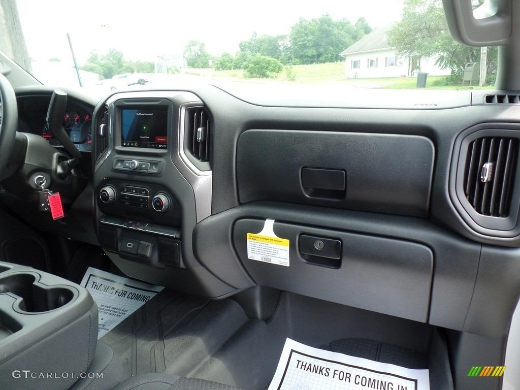 2019 Silverado 1500 Custom Double Cab 4WD - Silver Ice Metallic / Jet Black photo #44