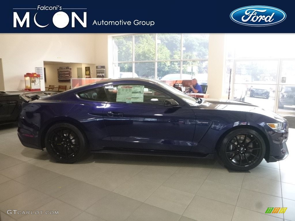 2019 Mustang Shelby GT350 - Kona Blue / GT350 Ebony Leather/Miko Suede photo #1