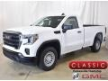 Summit White 2019 GMC Sierra 1500 Regular Cab