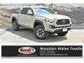 2019 Quicksand Toyota Tacoma TRD Off-Road Double Cab 4x4 #134505231
