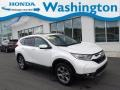 2017 White Diamond Pearl Honda CR-V EX-L AWD #134505301