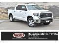 2019 Super White Toyota Tundra SR5 CrewMax 4x4 #134505254