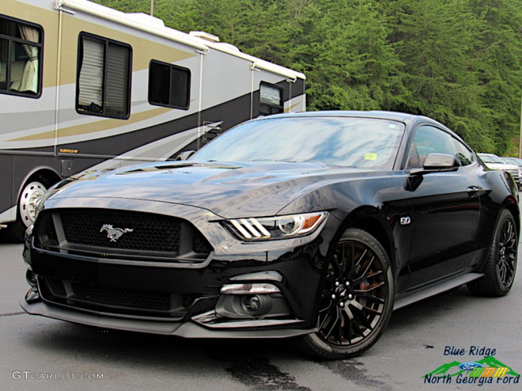 2017 Mustang GT Premium Coupe - Shadow Black / Red Line photo #1