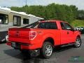 2014 Race Red Ford F150 STX SuperCab 4x4  photo #5