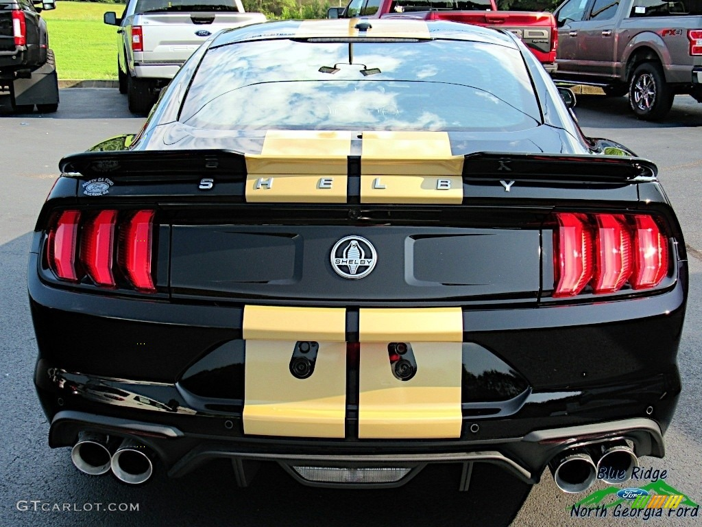 2019 Mustang Shelby GT-H Coupe - Shadow Black / Shelby Two-Tone Black/Gray photo #4